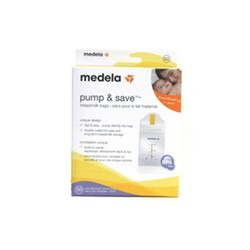 Medela Pump & Save Breastmilk Bags (20 pieces)
