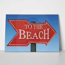 To the beach a