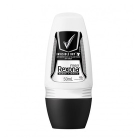 REXONA ΑΠΟΣΜΗΤΙΚΟ ROLL ON MEN INVISIBLE BLACK & WHITE 50ml