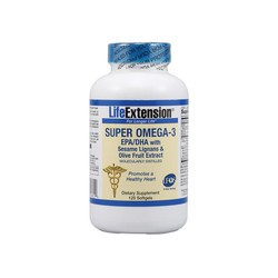 Life Extension Super Omega-3 120softgls