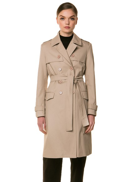 Wrap trenchcoat