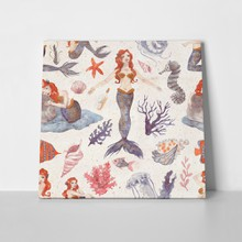Mermaid pattern 1100202509 a