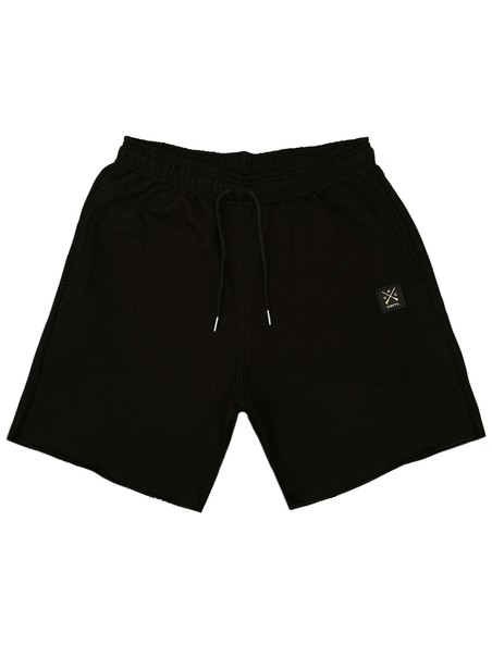 VINYL ART CLOTHING BLACK VINYL BASIC SHORTS