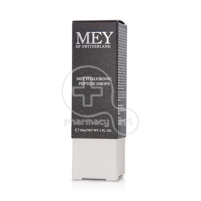 MEY - HYALURONIC Peptide Drops - 30ml