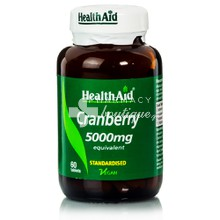 Health Aid CRANBERRY Extract 5000mg, 60tabs
