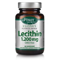 POWER HEALTH - CLASSICS PLATINUM RANGE Lecithin 1200mg - 60caps