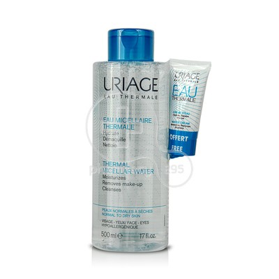 URIAGE PROMO PACK Eau Micellaire Thermale - 500ml PNS με ΔΩΡΟ EAU THERMALE Creme D'Eau -15ml
