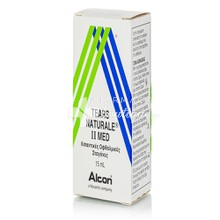 Alcon Tears Natural II Med - Ξηροφθαλμία, 15ml