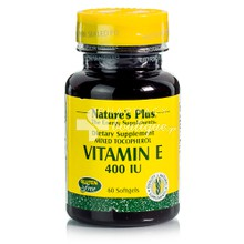 Natures Plus VITAMIN E 400IU, 60 softgels