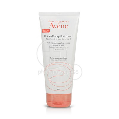 AVENE - Fluide Demaquillant 3 en 1 - 200ml