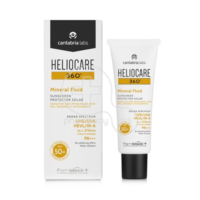 HELIOCARE - HELIOCARE 360 Mineral Fluid SPF50+ - 50ml