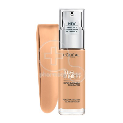 L'OREAL PARIS - TRUE MATCH Super Blendable Foundation 3.D/3.W (Golden Beige / Beige Dore) - 30ml