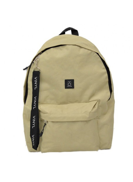 VINYL ART CLOTHING BEIGE BACKPACK