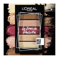 L'Oreal Paris La Petite Mini Eyeshadow Palette 02 Nudist Multi 5x0.80gr