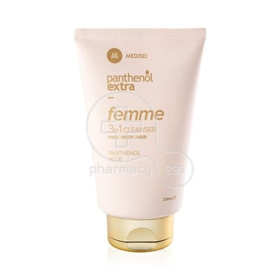 PANTHENOL EXTRA - FEMME 3in1 Cleanser - 200ml