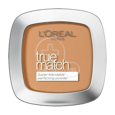 L'OREAL PARIS - TRUE MATCH Super Blendable Perfecting Powder No7W (Cannelle) - 9gr