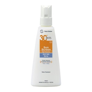 Frezyderm sun screen anti seb spray 150ml