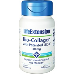 Life Extension Bio-Collagen with Patented UC-II 60 small caps