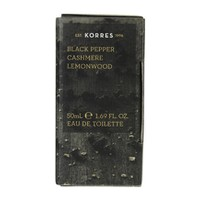 KORRES EAU DE TOILETTE BLACK PEPPER 50ML