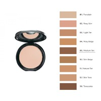 RADIANT PERFECT FINISH COMPACT FACE POWDER No5-MEDIUM TAN