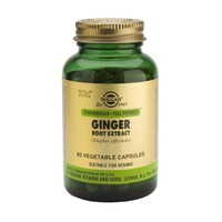 SOLGAR GINGER ROOT EXTRACT SFP 60CAPS