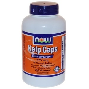 Now foods kelp caps