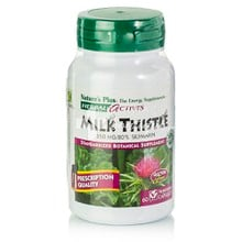 Natures Plus Milk Thistle 250mg - Συκώτι, 60 veg. caps