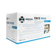 Medical Protection 3-layer Face Mask, 50τμχ (Κουτί)