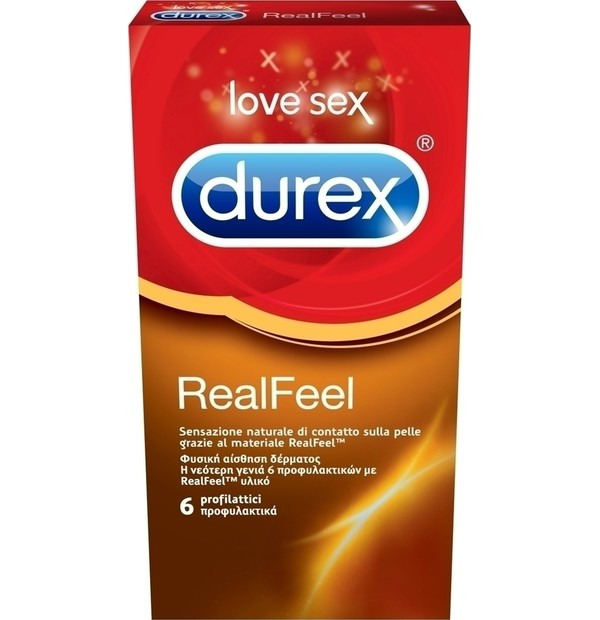 DUREX REAL FEEL 6ΤΕΜ