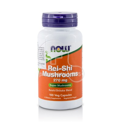 NOW - Rei-Shi Mushrooms 270mg - 100caps