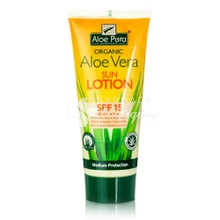 Optima Aloe Vera Sun Lotion SPF15, 200ml