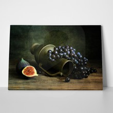 Still life with grapes 91588337 a
