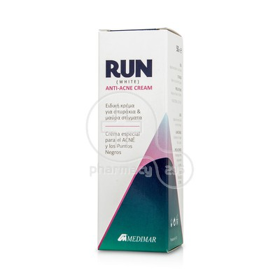 MEDIMAR - RUN Anti-Acne Cream (White) - 50gr