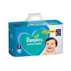 Pampers Active Baby Giant Pack No3, 6-10kg 104Τμχ.