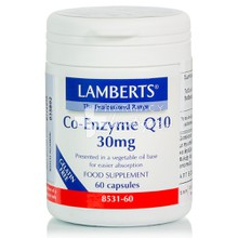 Lamberts Co-Enzyme Q10 30mg, 60caps