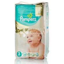 Pampers No.3 (5-9 kg) - Premium Care, 60τμχ.