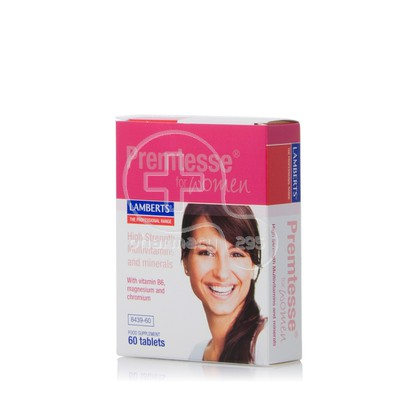 LAMBERTS - Premtesse for Women - 60tabs