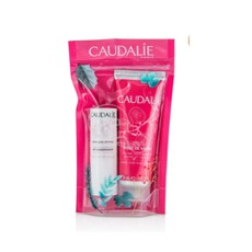 Caudalie PROMO PACK Rose De Vigne Hand and Nail Cream 30ml & Lip Conditioner 4.5g.