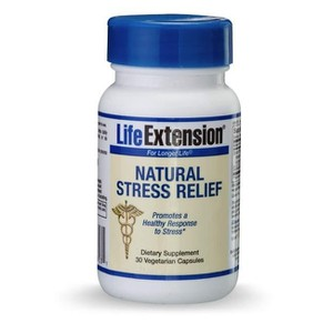 Life extension natural stress relief 30 caps