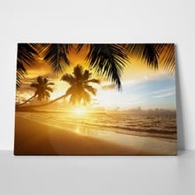 Caribbean beach sunset 119841865 a