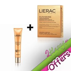 Lierac Sunissime Capsules Bronzage Κάψουλες Μαυρίσματος 30 Κάψουλες & Sunissime BB Fluide Protecteur Anti-Age Global Dore Αντηλιακή Κρέμα SPF50 40ml.