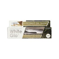 WHITE GLO TOOTHPASTE COCONUT OIL SHINE 150GR (PROMO+ΟΔΟΝΤΟΒΟΥΡΤΣΑ)