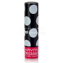 Apivita Lip Care Pomegranate Tinted - Balm Χειλιών με Ρόδι, 4.4 gr