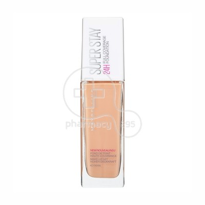MAYBELLINE - SUPERSTAY Full Coverage Foundation No40 (Fawn) - 30ml