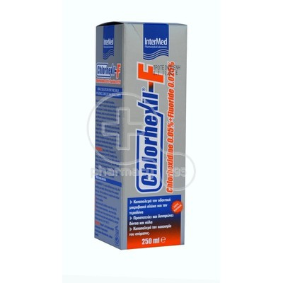INTERMED - CHLORHEXIL F MOUTHWASH 0.05% + 0.025% - 250ml
