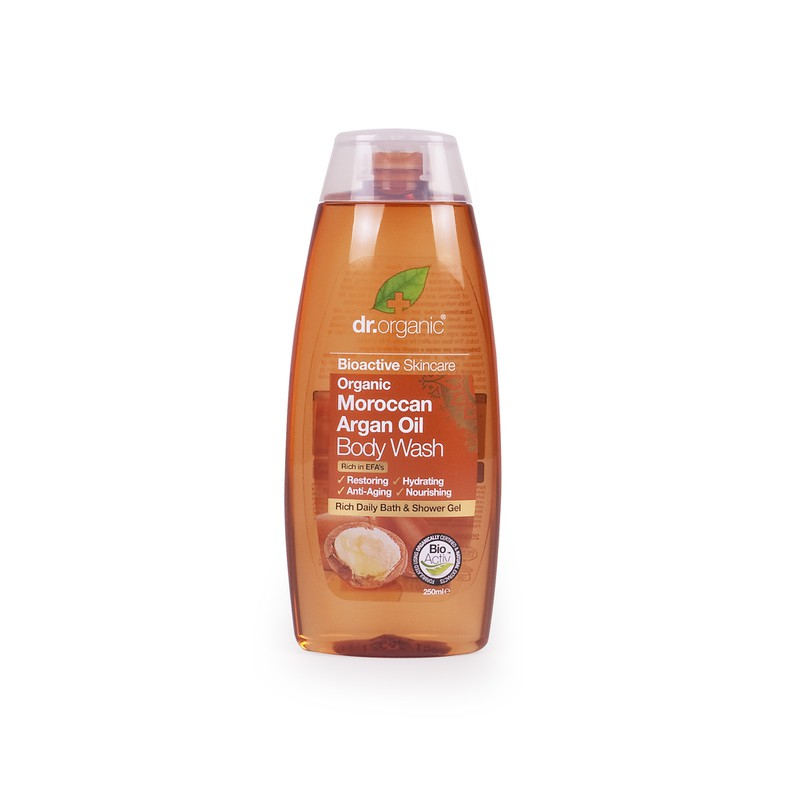 Organic Moroccan Argan Oil Body Wash
