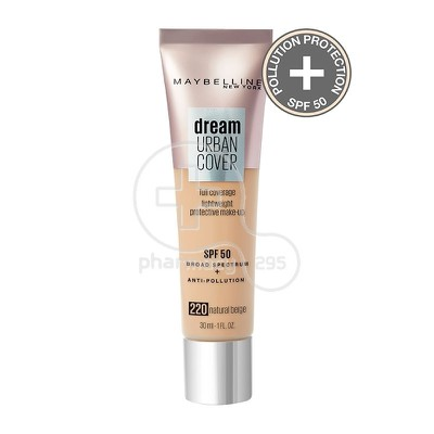 MAYBELLINE - DREAM URBAN COVER Corrective Make-Up SPF50 No220 Natural Beige - 30ml