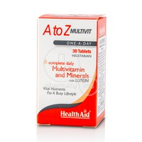 HEALTH AID - A to Z Multivit- 30tabs