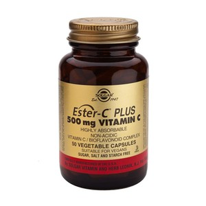SOLGAR Ester-C 500mg vitamin C 50vegetable capsoules