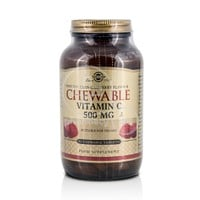 SOLGAR -  Chewable Vitamin C 500mg (Raspberry Flavor) - 90chew.tabs